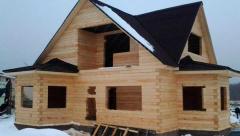 Что влияет на усадку деревянного брусового дома