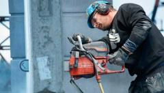 Безопасность при резке бетона