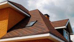 Использование шинглас в кровле крыши