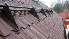 Из чего состоит система безопасности кровли крыши?
